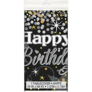 Tablecover Rectangle - Glittering Birthday - 54x84""
