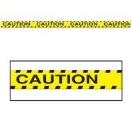 Party Tape-Plastic-Caution Construction-1pkg-20ft