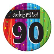 Plates-BEV-Milestone Celebrations 90th-8pkg-Paper