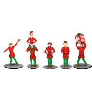 6-83185 The Polar Express Elves Figure Pack