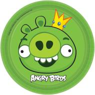 Plates-BEV-Angry Birds-8pk-Paper - Discontinued