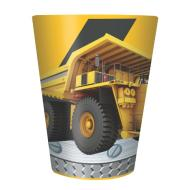 Plastic Cup-Construction Zone-1pkg-16oz