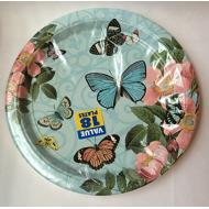 Plates-DN-Butterfly-18pk-Paper (Discontinued)