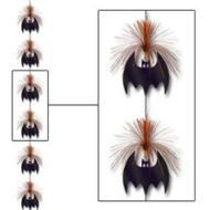 Firework Stringer-Tinsel-Bats-1pkg-7ft