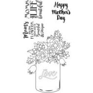 Sizzix stamp Mother's day