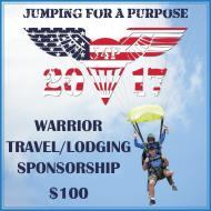 Warrior Travel/ Lodging Sponsor J4P17