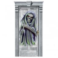 Door Decor-Halloween-Gore-Grim Reaper-1pkg-65''x33''