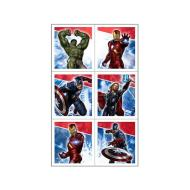 Stickers-Avengers-4 Sheets