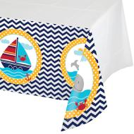 Tablecover-Rectangle-Ahoy Matey-Plastic - Discontinued