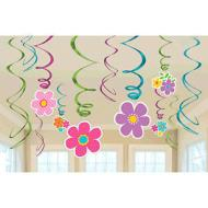 Swirl Decorations-Flowers