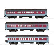 6-58019 Polar Express Passenger Car 3-Pack, HO Scale - PREORDER