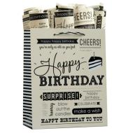 Birthday Expressions Tote Bag-Medium