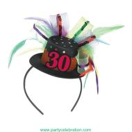 Fascinator-30th Birthday-Fabric