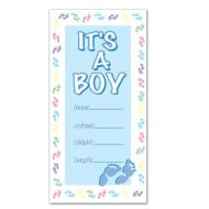 Door Cover-Plastic-It's a Boy-1pkg-5ft