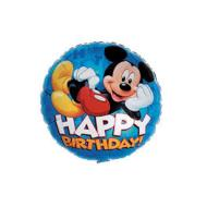 Foil Balloon - Mickey Mouse Happy Birthday - 17""