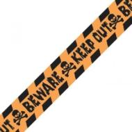 "Banner-Halloween ""Keep Out"" Caution tape-10ft"