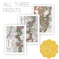 Mighty Meandering Mississippi River Print Bundle