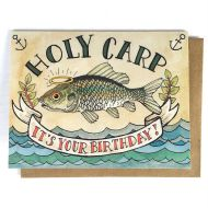 Holy Carp It's Your Birthday Greeting Card