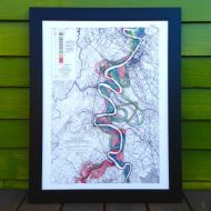 Mighty Meandering Mississippi River 18x24 Art Print - Sheet 15