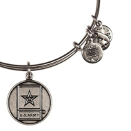 Alex & Ani Bracelet US Army Rafaelian Silver Finish