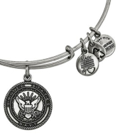 Alex & Ani Bracelet US Navy Rafaelian Silver Finish