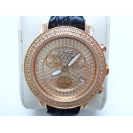 Womens JoJo Diamond Watch Black Band
