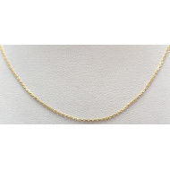14k yg 14 inch necklace