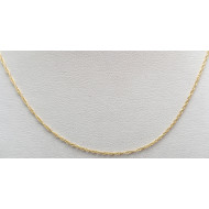 14k yg 15 inch necklace