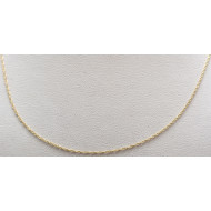 14k yg 18 1/2 inch necklace