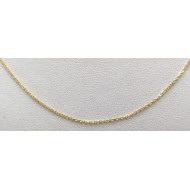 14k yg 20 1/4 inch necklace