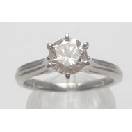 14k wg 1.00ctw I1 H diamond ring
