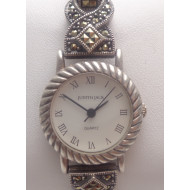 Sterling Silver Judith Jack Watch