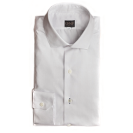 Royal White Oxford Shirt