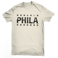 Phila Gym T-Shirt - Ecru