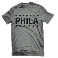 Phila Gym T-Shirt - Grey