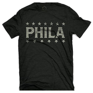 Phila Gym T-Shirt - Charcoal
