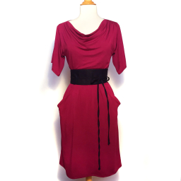 Jenni Dress - Berry