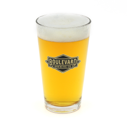 Diamond Logo Pint Glass
