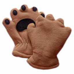 Bear Hands & Buddies Fleece Mittens
