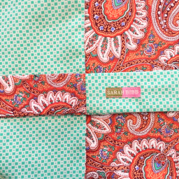 Hyla Skirt - Paisley/Green Check