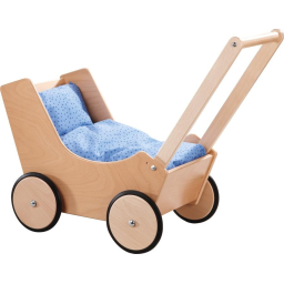 Haba Doll Pram (Natural)