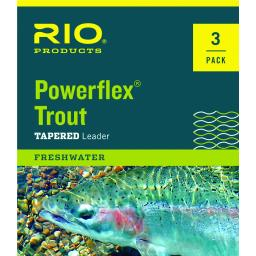 Rio Powerflex Trout Leader (3-Pack)
