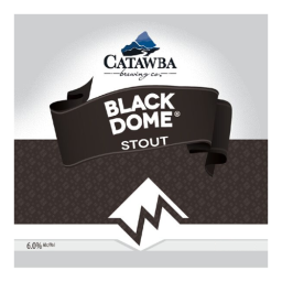 Catawba Valley 'Black Dome' Stout 12oz Sgl (Can)