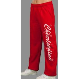 Pantalon Ouate - Rouge Cheer Blanc