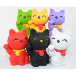 Welcome Cat Erasers - Assorted