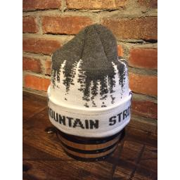 Beanie Grey Tree Slouchy