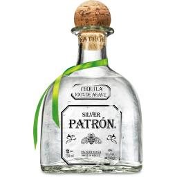 PATRON TEQUILA SILVER 50 mL