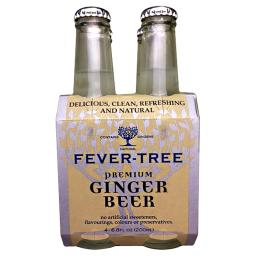Fever Tree- Ginger Beer 4pk