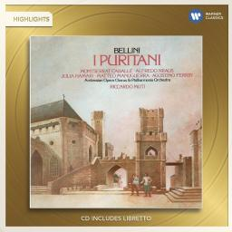 CD Bellini: I Puritani (Highlights), Muti/Philharmonia