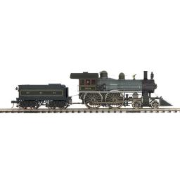 Pennsylvania 4-4-0 American Steam Engine w/Proto-Sound 3.0 (Hi-Rail Wheels)